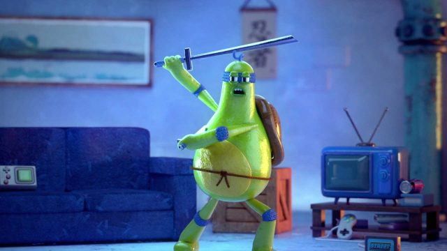 """Ninja Turtles At Home"" Fan Short by See Gee Studio 