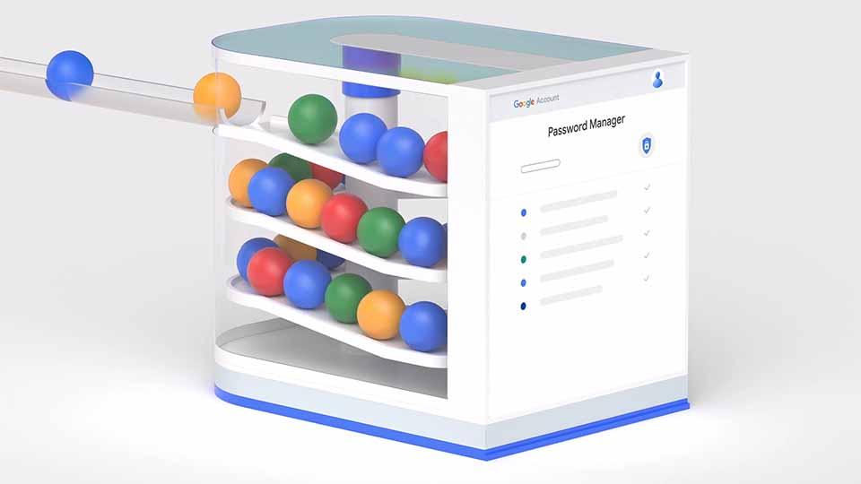 "Google ""Password Manager"" Explainer by Oddfellows | STASH MAGAZINE"