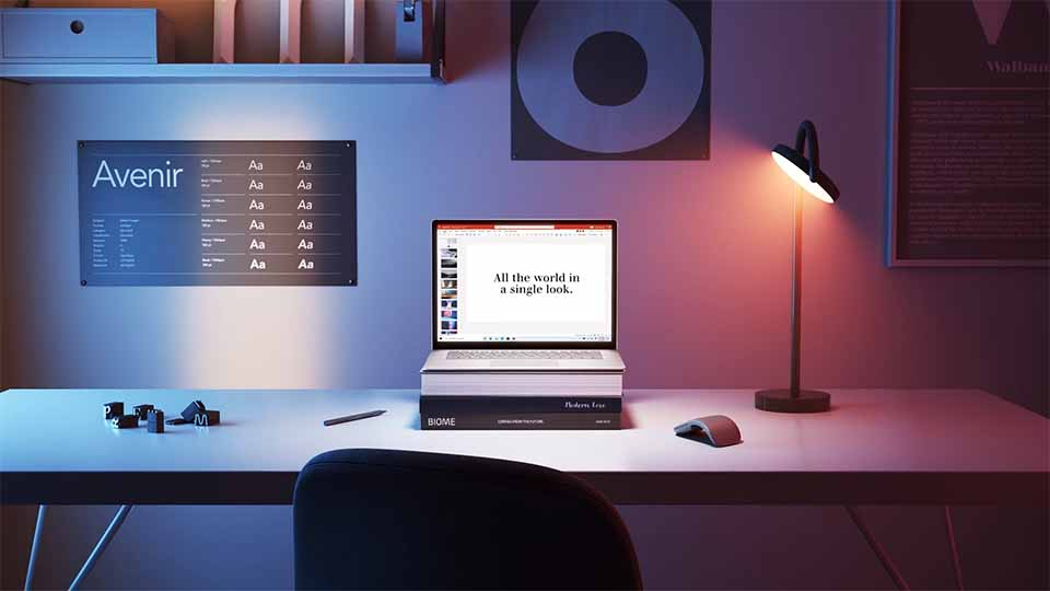 "Microsoft ""Premium Fonts"" Brand Film by Six N. Five | STASH MAGAZINE"