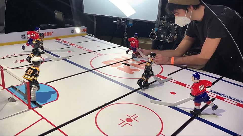 """Dunkin' NHL"" Making-of by Peter Sluszka and Hornet | STASH MAGAZINE"