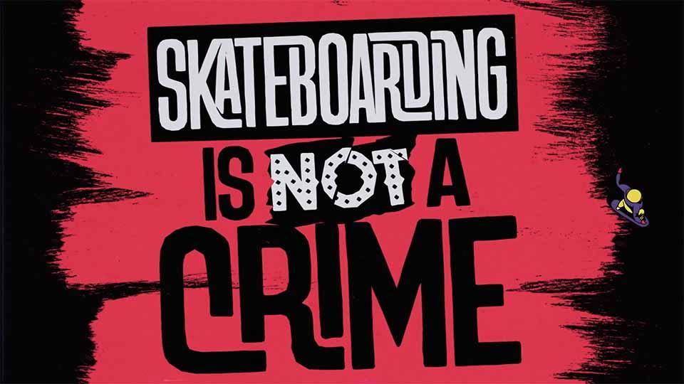 """Skateboarding is Not a Crime"" Micro Short Film by FEVR | STASH MAGAZINE"
