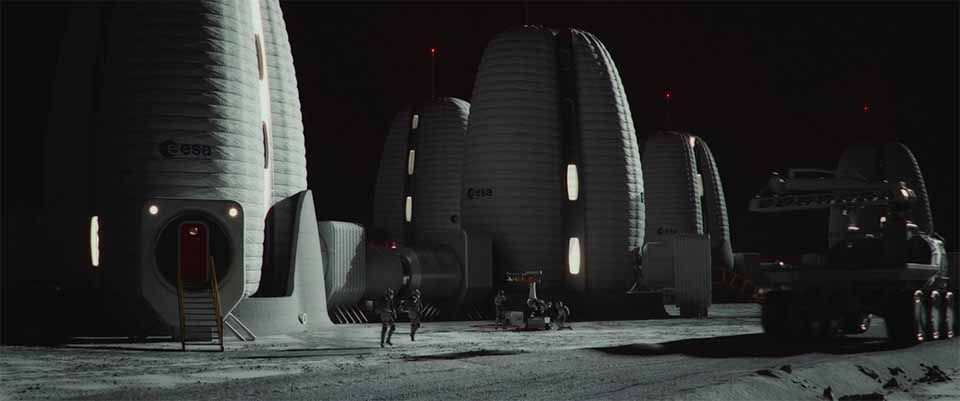 """Playdead Imagine """"Life Beyond Earth"""" for Skidmore, Owings & Merrill and the ESA 