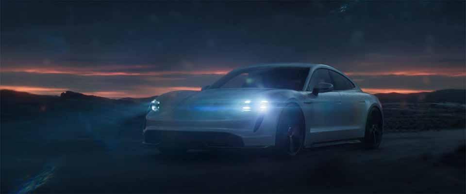 "Porsche Taycan ""Electricity"" by Bipolar Studio   STASH MAGAZINE"