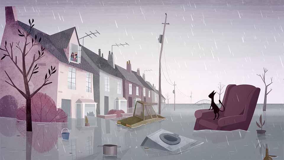 "BeFloodReady ""Missy's Tale"" by Åsa Lucander and Aardman Animations   STASH MAGAZINE"