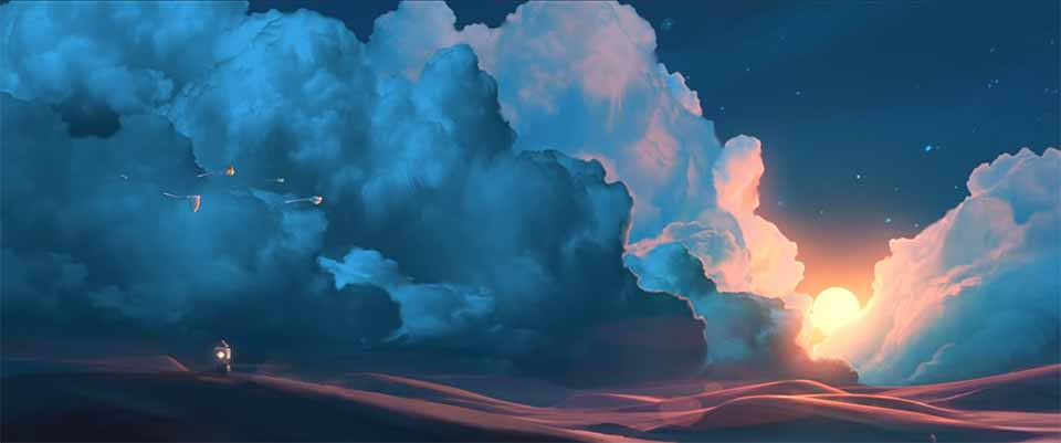 """Sky: Children of the Light"" Nintendo Switch Launch Promo by Evan Viera and Illusorium   STASH MAGAZINE"
