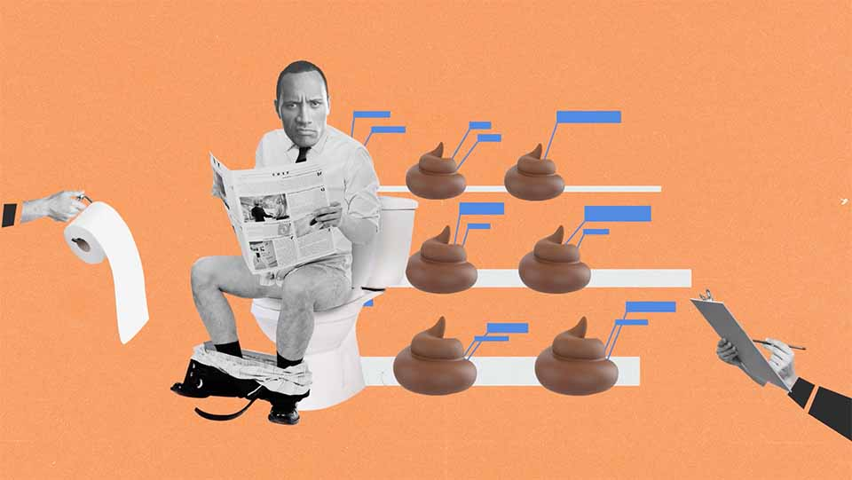 """Dwayne Johnson """"Back Against The Wall"""" Animated Collage by Kasra Design 