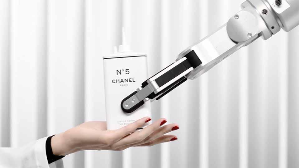 "Chanel ""N°5 Factory"" by Thomas Lagrange and Mikros   STASH MAGAZINE"
