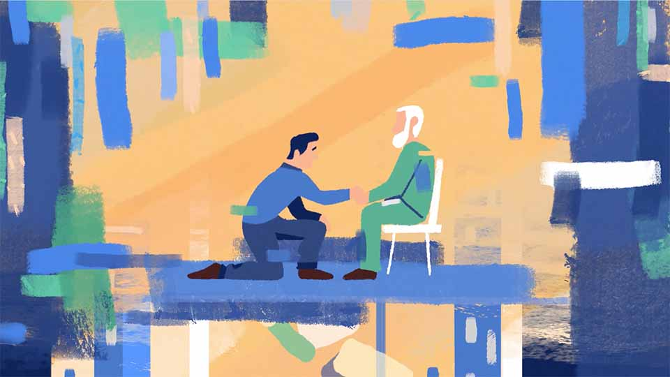 "USA for UNHCR ""Abdallah's Refugee Story"" by Demo Duck   STASH MAGAZINE"