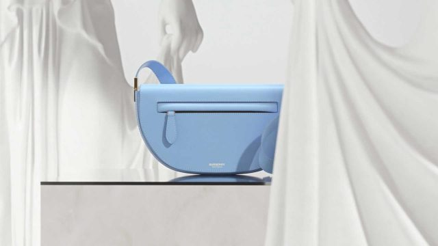 Found x Burberry: The Launch of the Olympia Bag