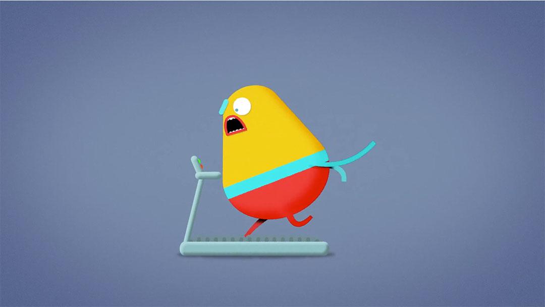 """Workout"" Short Film by Joe Wood and Rumpus Animation | STASH MAGAZINE"