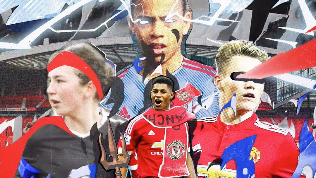 "Adidas Football ""Manchester United 2021/22 Away Kit"" by Golden Wolf | STASH MAGAZINE"