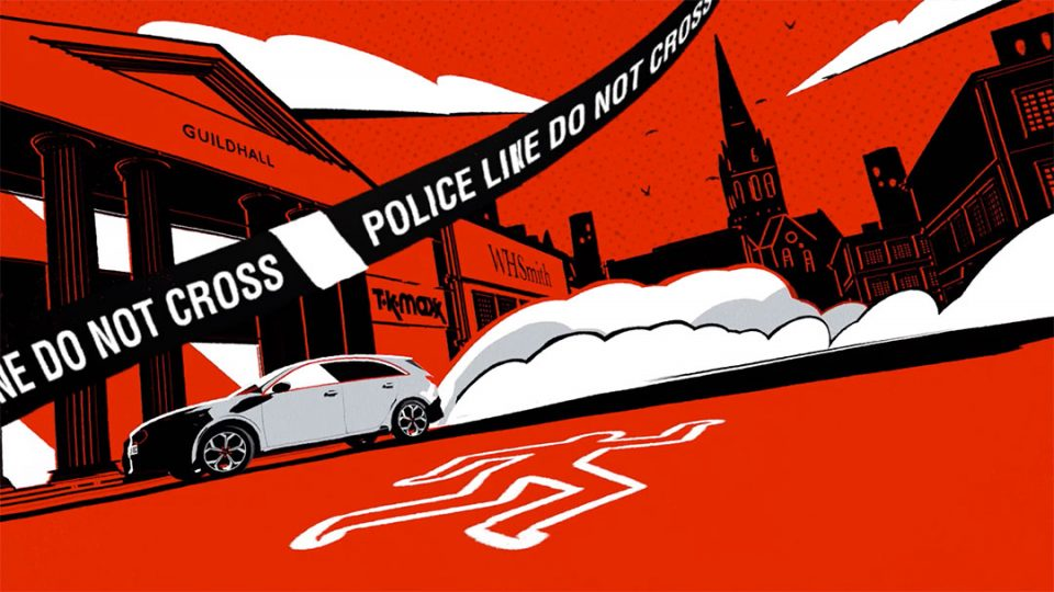 "Fergus Craig ""Once Upon A Crime"" Book Trailer by Cub Studio | STASH MAGAZINE"