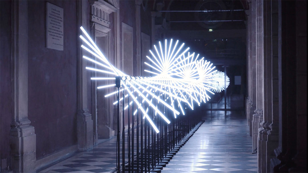 """""""FLUX"""" Light Installation by Collectif SCALE   STASH MAGAZINE"""