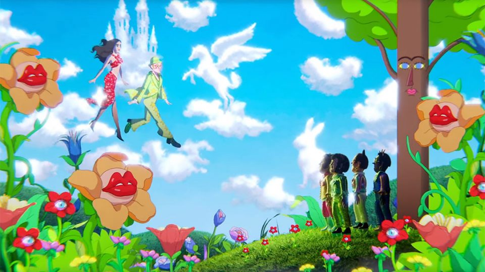 "Elton John and Dua Lipa ""Cold Heart"" (PNAU remix) Music Video by Raman Djafari   STASH MAGAZINE"