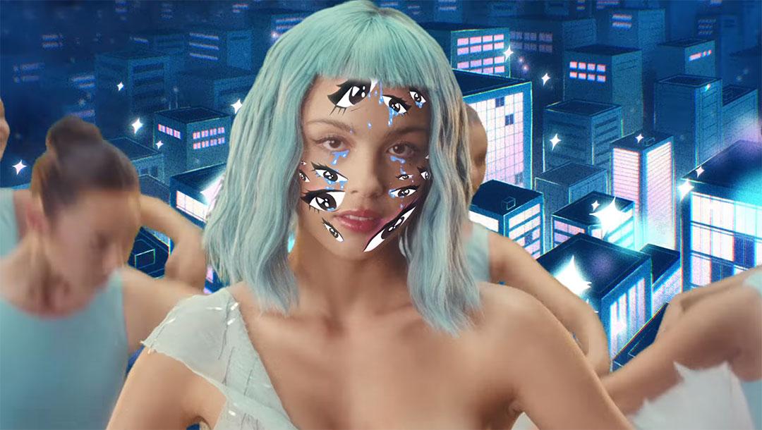 "Olivia Rodrigo ""Brutal"" Music Video by Petra Collins and an iPad   STASH MAGAZINE"
