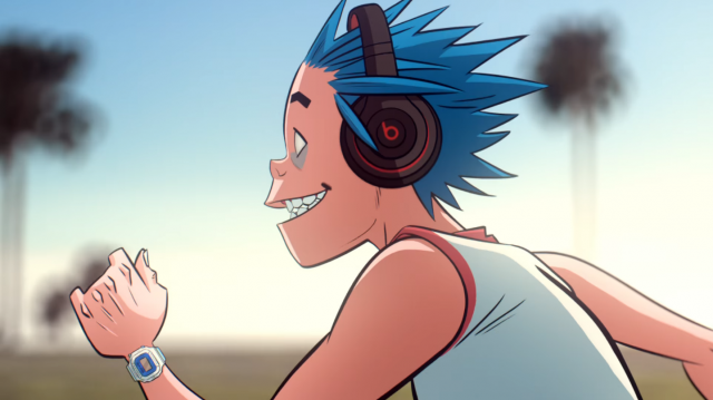 "Gorillaz ""Humility"" music video Jamie Hewlett 