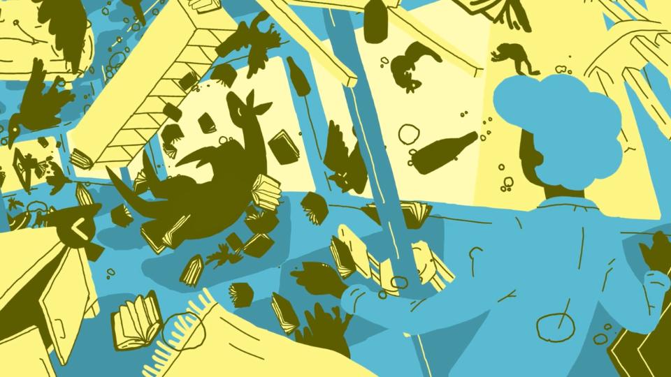 Ruben Leaves Animated short   STASH MAGAZINE