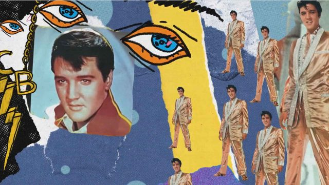 """Elvis Presley """"Can't Help Falling In Love With You"""" Music Video 