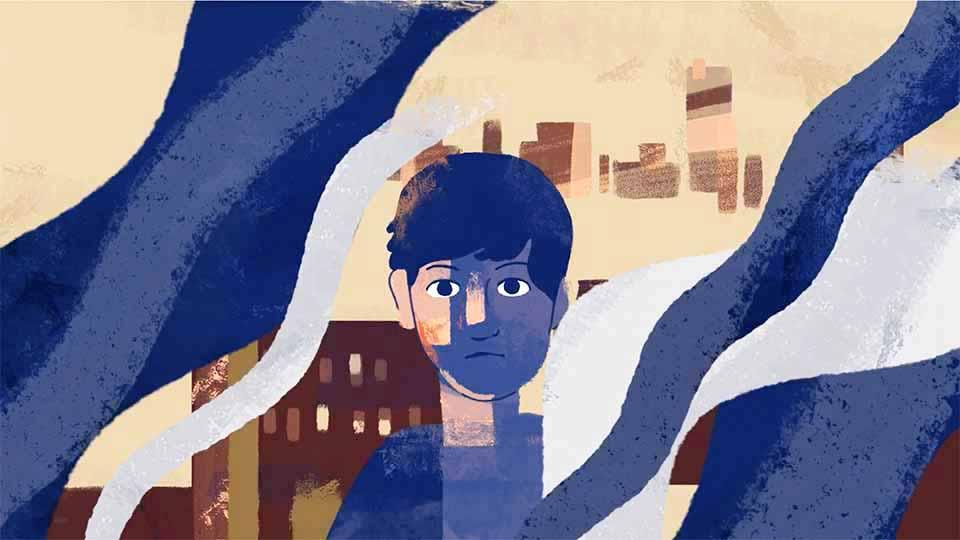 "USA for UNHCR ""Abdallah's Refugee Story"" by Demo Duck | STASH MAGAZINE"