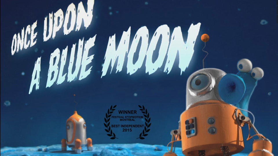Animation Once Upon a Blue Moon | STASH MAGAZINE