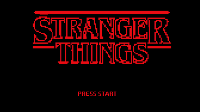8-Bit Stranger Things: Season One Recap