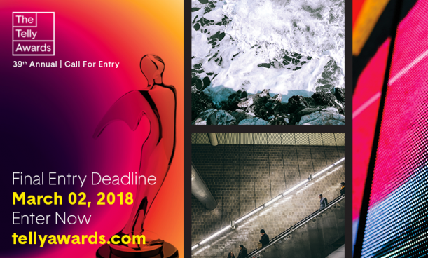 Telly Awards Final Deadline is Friday March 2nd!