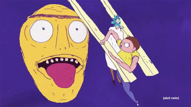 Rick and Morty Exquisite Corpse | STASH MAGAZINE
