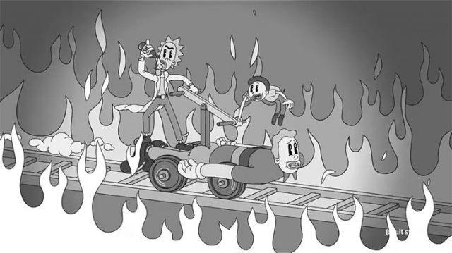 Rick and Morty Exquisite Corpse   STASH MAGAZINE