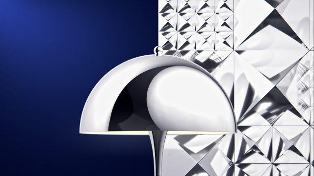 Panthella Chrome lamp   STASH MAGAZINE