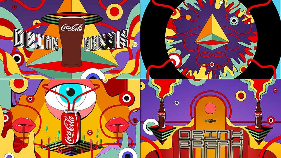 Coca-Cola x Twitch Drink Break by Laundry | STASH MAGAZINE