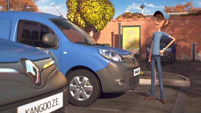 Akama Renault Z. E. The Postman |  STASH MAGAZINE