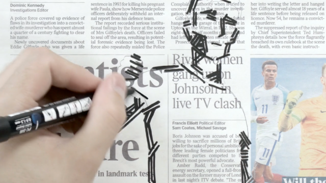Doodling Between the Headlines
