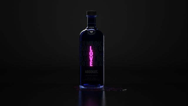 Absolut A Drop of Love FutureDeluxe | STASH MAGAZINE