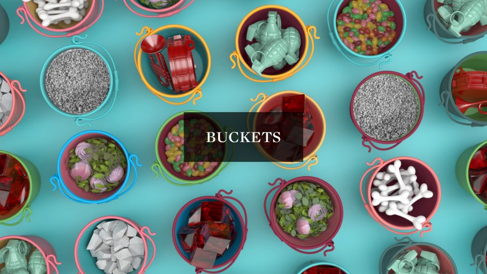Bucketsl by Sarofsky | STASH MAGAZINE