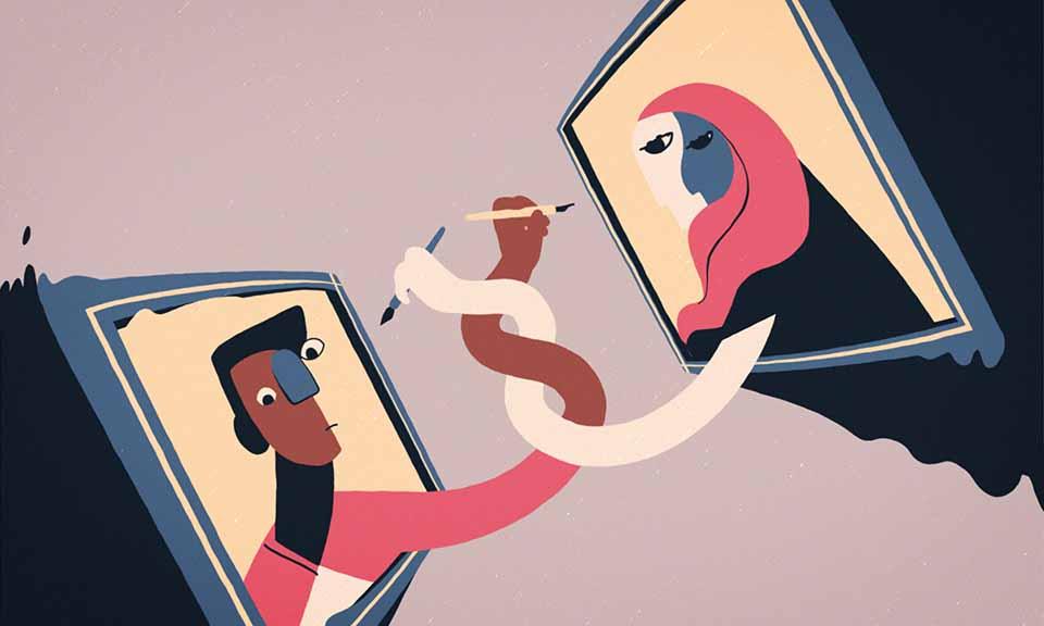 """It's Still Being Written"" Animated Poem by  Melanie Gohin | STASH MAGAZINE"