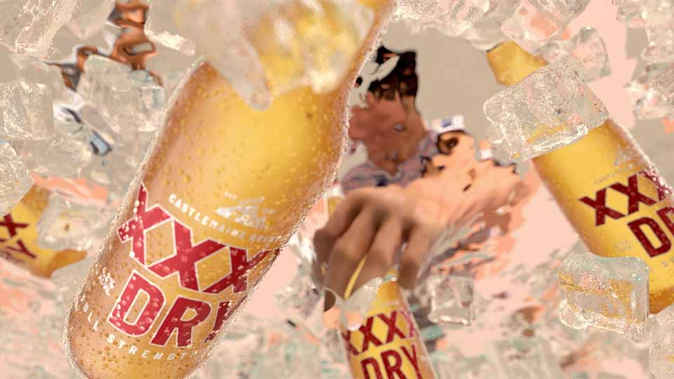 "XXXX Dry ""Yeah Nice!"" by FutureDeluxe | STASH MAGAZINE"