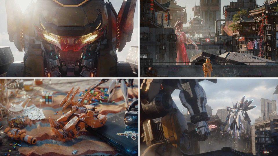 """Super Mecha Champions"" Game Trailer by Chiu and Somei | STASH MAGAZINE"