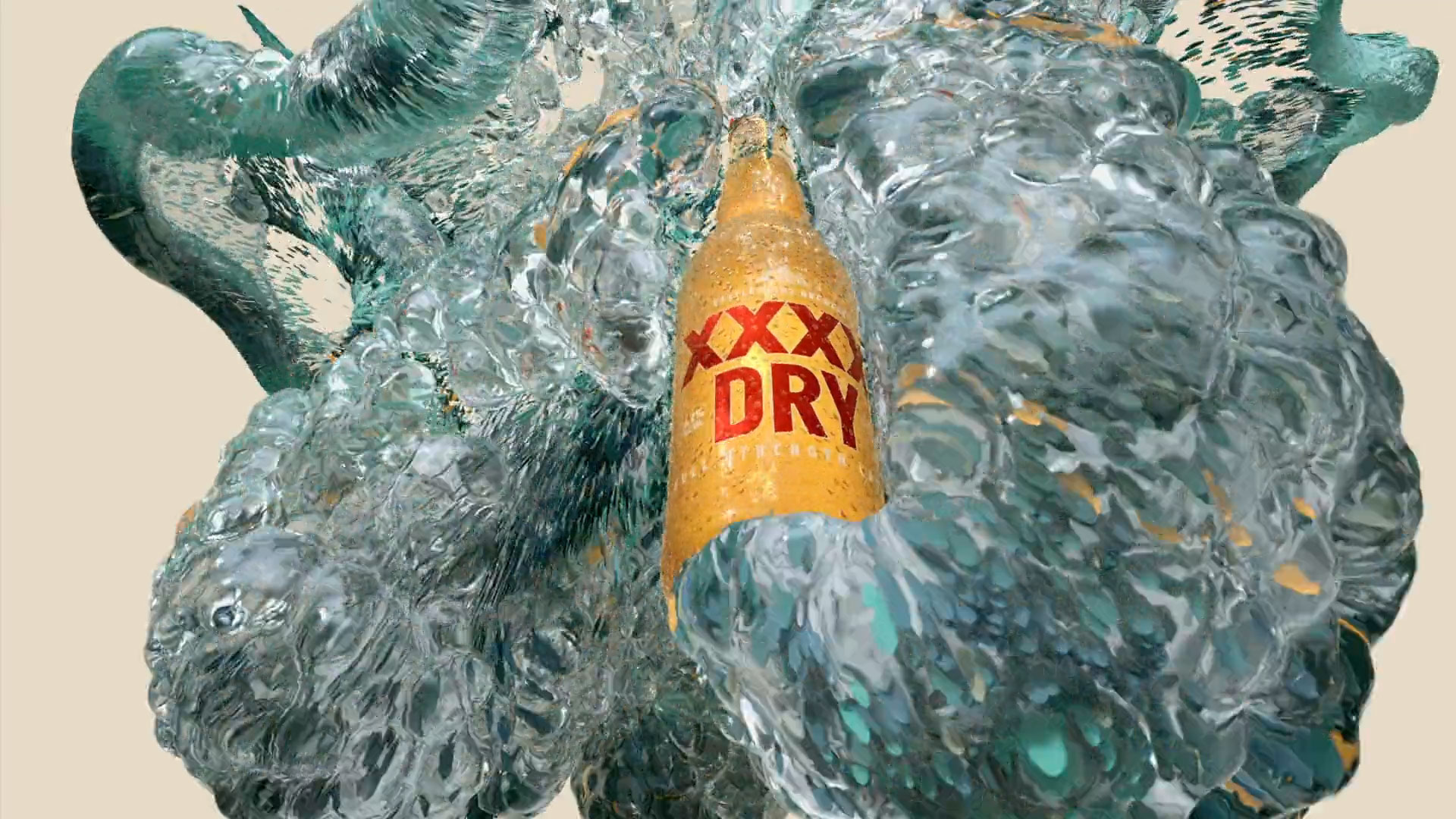 "XXXX Dry ""Yeah Nice!"" by FutureDeluxe 