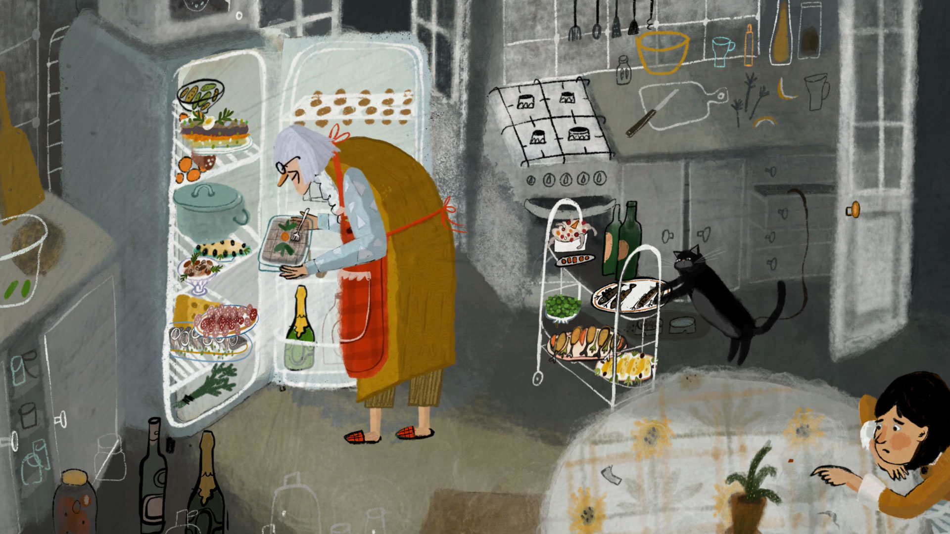 Merry Grandmas! Short Film by Natalia Mirzoyan | STASH MAGAZINE