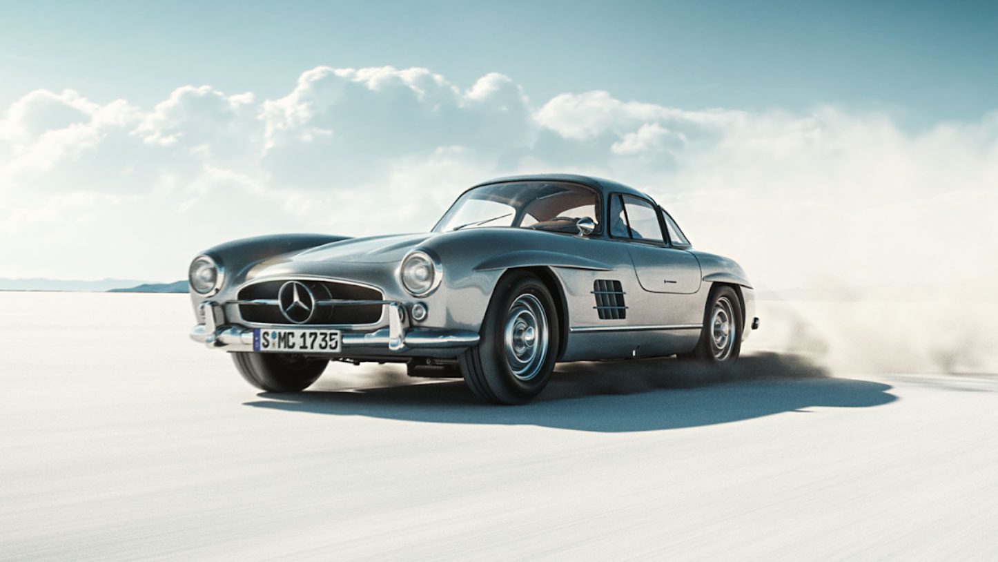 Mercedes-Benz 300SL Gullwing short film by João Elias | STASH MAGAZINE