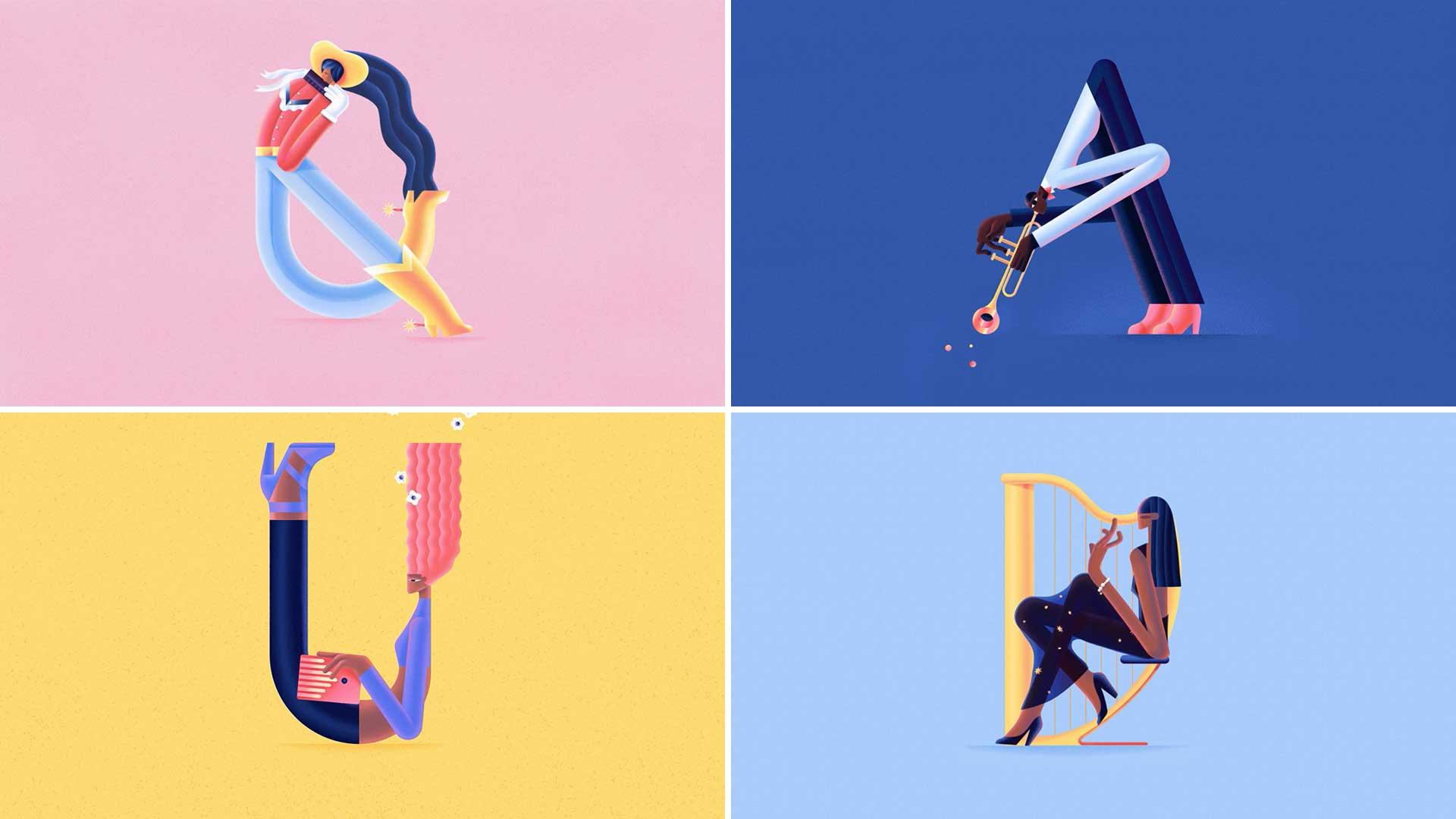 "Pipita Studio's ""Alphabet"" Short Film Celebrates Musicians | STASH MAGAZINE"