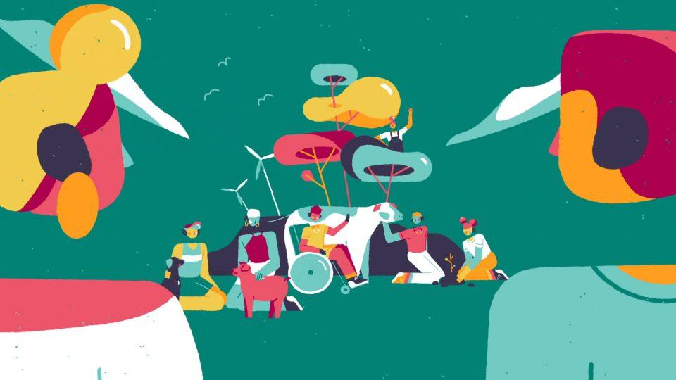 "The Vegan Society ""Teen Hub"" by Dinos & Teacups | STASH MAGAZINE"