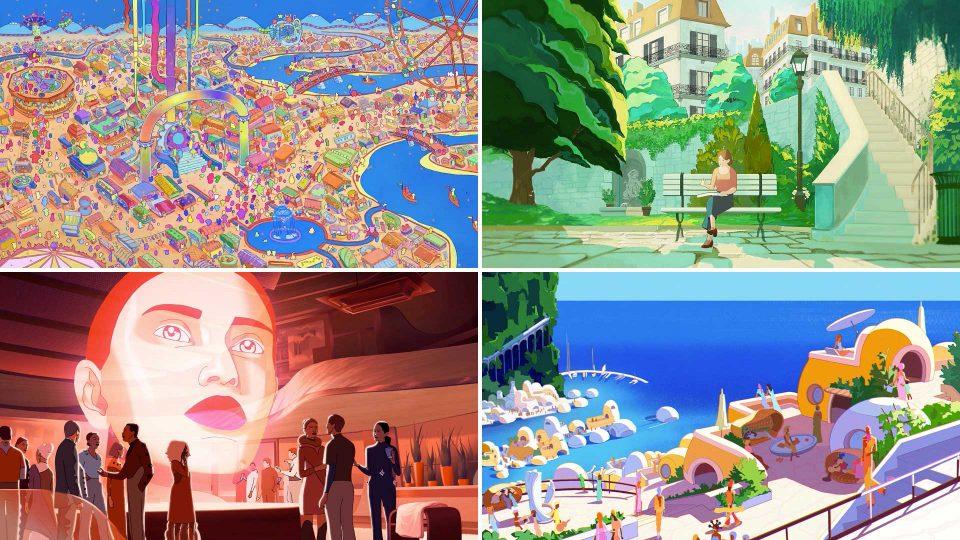 Annecy 2021 Festival Trailers by Gobelins | STASH MAGAZINE
