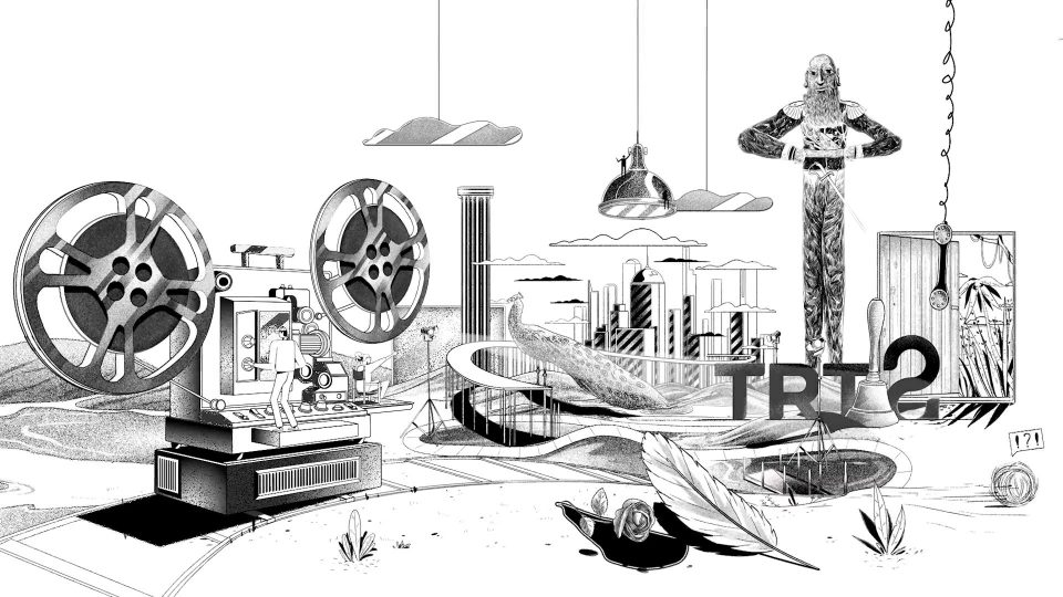 TRT 2 Channel IDs by Lunapark Film | STASH MAGAZINE