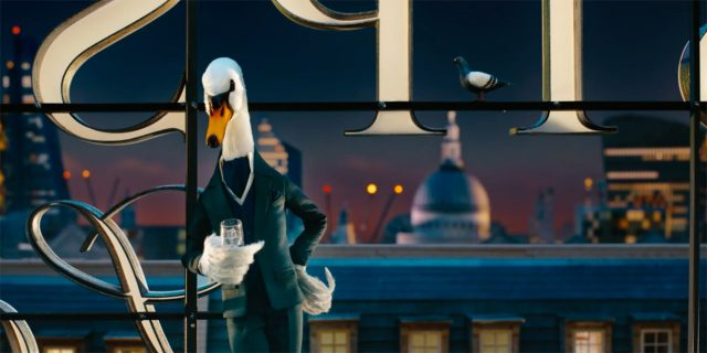 "Sipsmith ""Mr Swan"" stop motion animation 