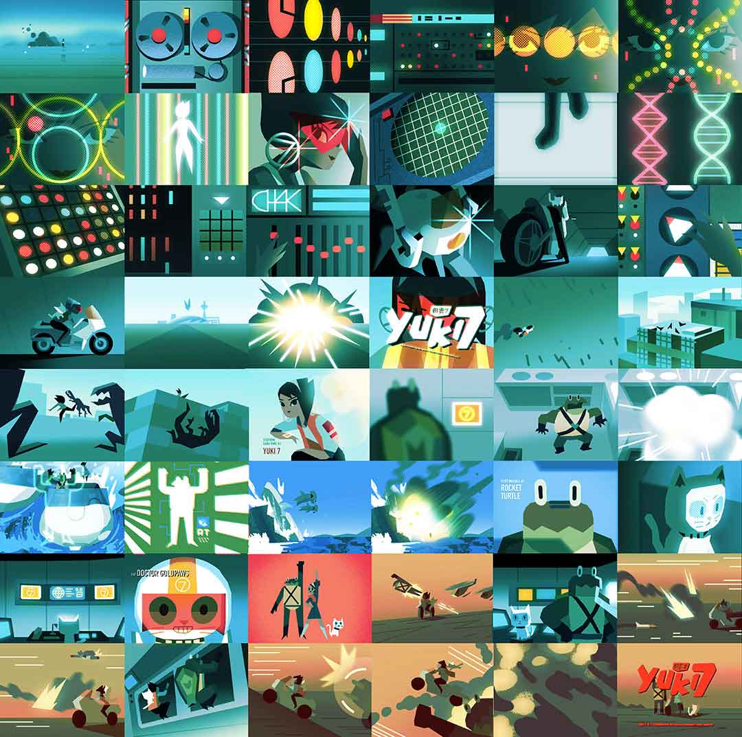 """Yuki 7"" Series Trailer by Chromosphere | STASH MAGAZINE"